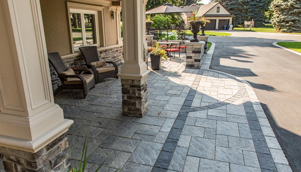 King Niagara Outdoor Landscaping Project