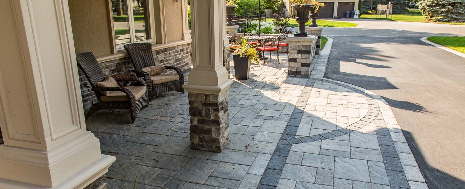 Custom patio stonework and solutions Niagara